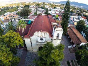 IglesiaXochimilcoAerial