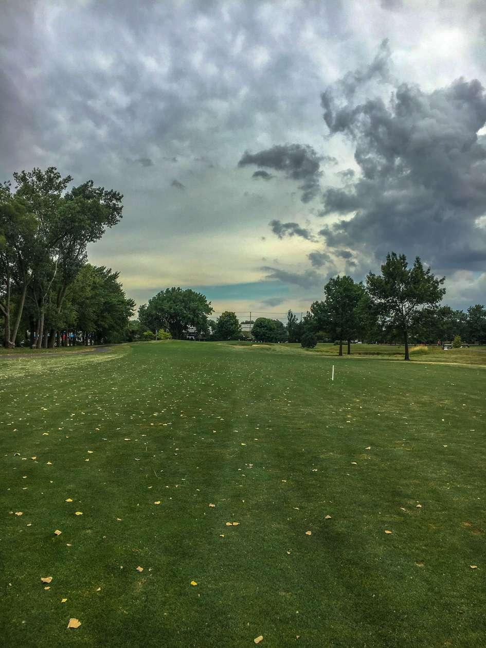 Arlington Lakes Golf Course - Arlington Heights - Tee Shot - Old Hole 13, New Hole 4 Approach