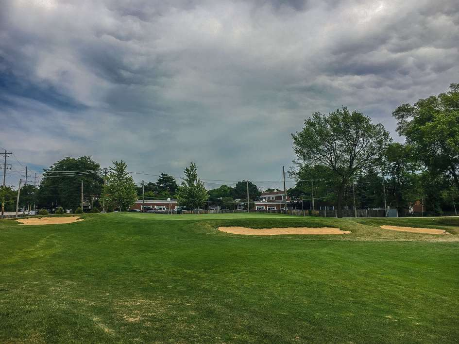 Arlington Lakes Golf Course - Arlington Heights - Old 4, New 13 Green