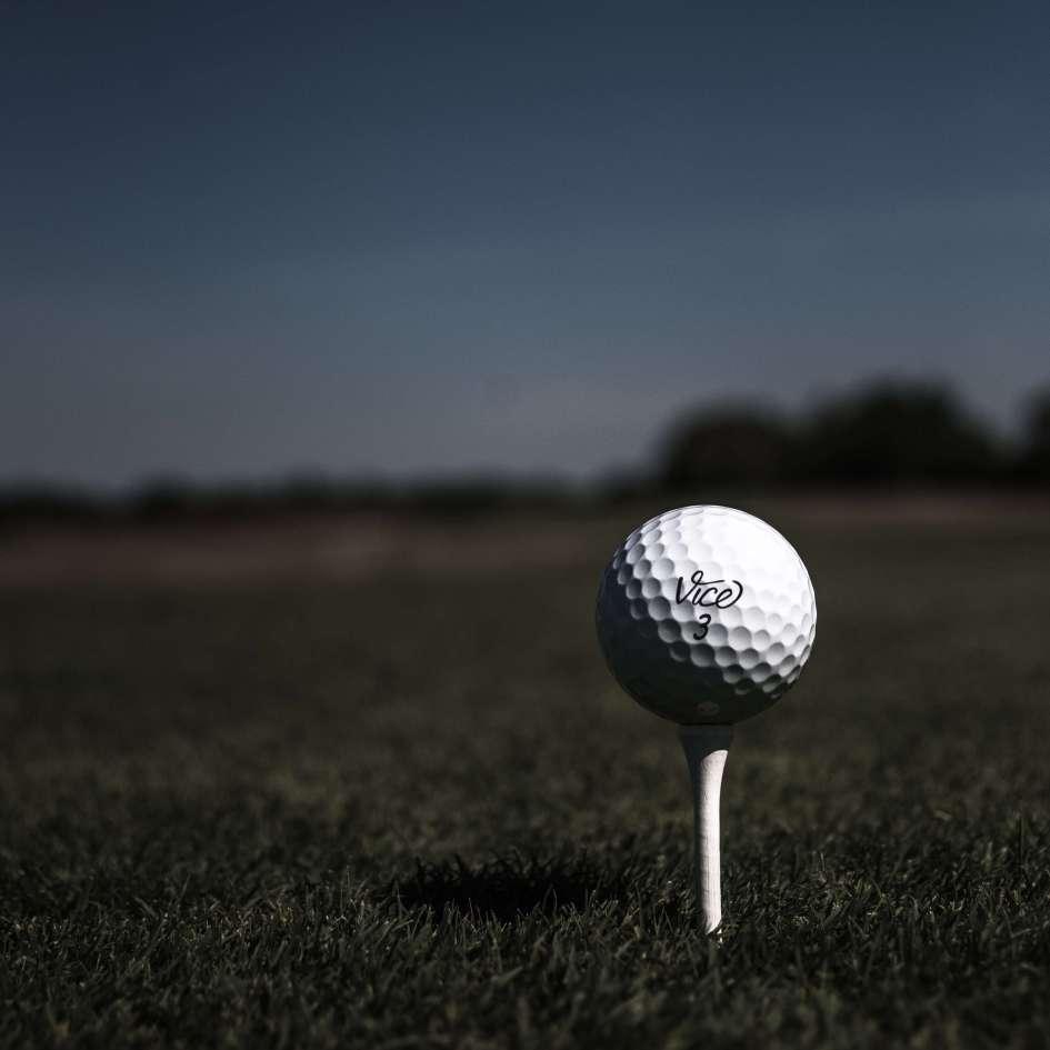 Vice Golf Ball - On Tee