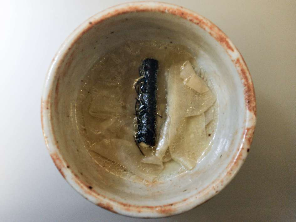 alinea - shio kombu - nori - scallop - corn - butter - august 2016