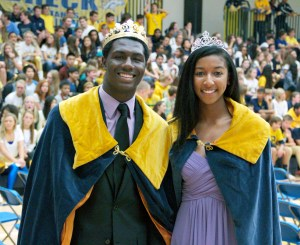 Breck's Homecoming King and Queen