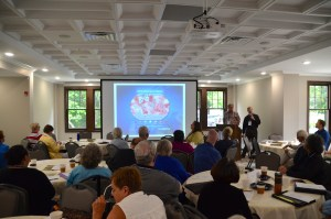A photo from the June Meeting of Elected Bodies at the ECMN Retreat Center in Faribault.