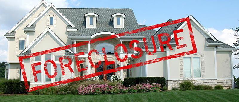 Nice home under foreclosure