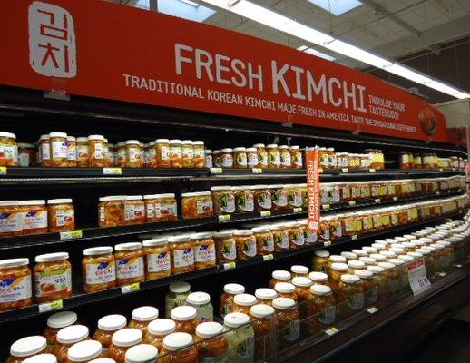 Aurora Grocery store's Korean Kimichi isle