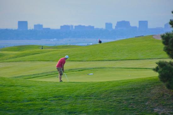 Golfing in Aurora, CO