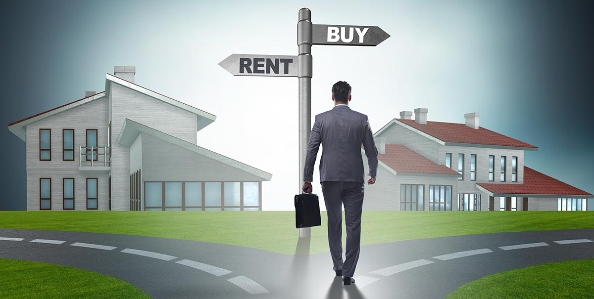 Rent of Buy a New Home