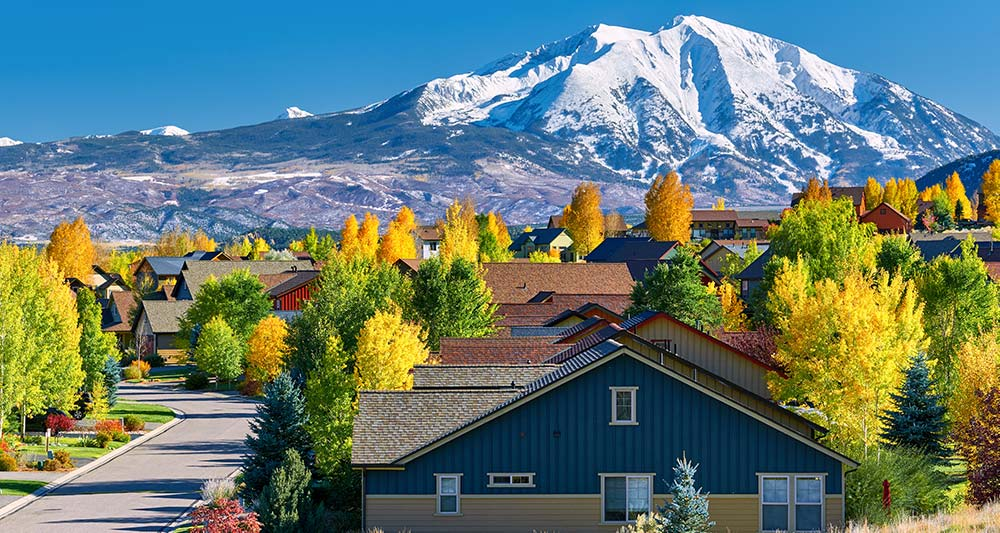Mountain Homes in Colorado