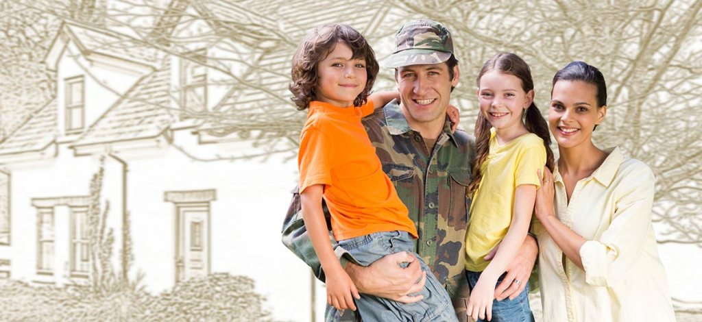 Family that used Homes for Heroes to buy their first home.
