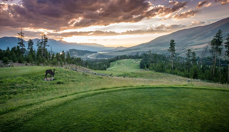The River Course in Keystone, Colorado.