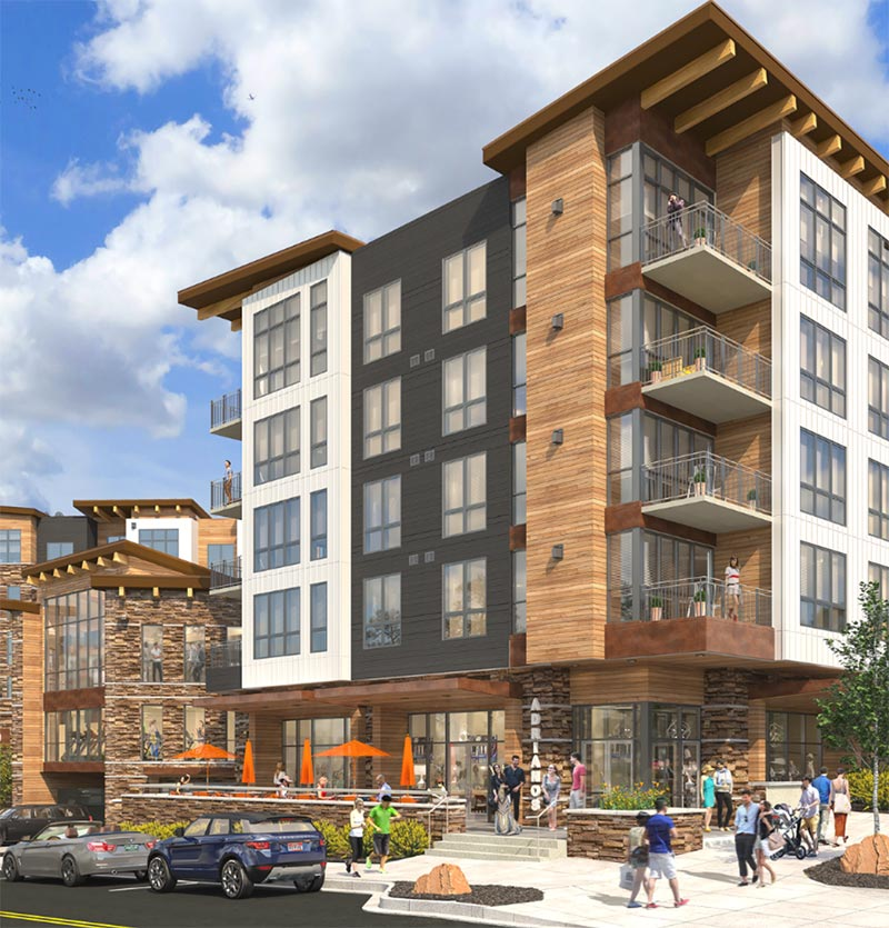 Luxury condos in Dillon, Colorado offered by Uptown 240.