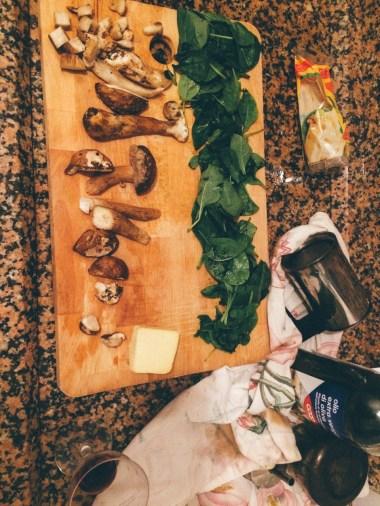 Fresh mushrooms from the Mercato Orientale in Genova.