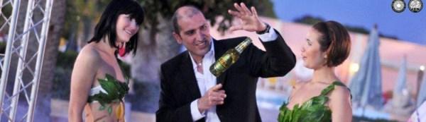 Brian Role Magician in Malta Product Launch Cisk Chill Farsons