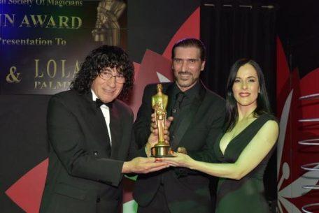 Malta Magician Brian Role and Lola Palmer hounoured with IMS Merlin Magic Award