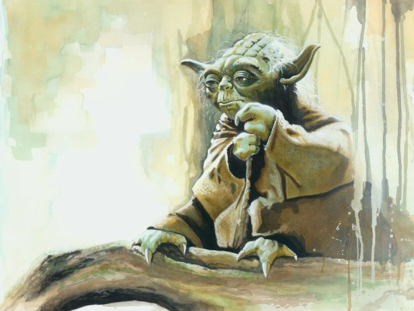 Star Wars Yoda Paintings