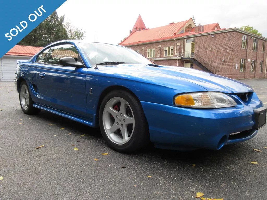 1998 Ford Mustang-soldout