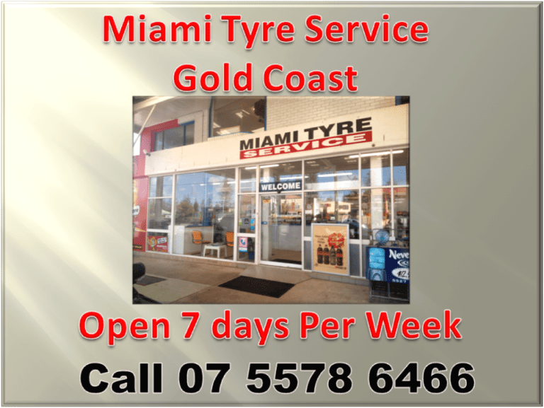 Miami tyre service Gold Coast