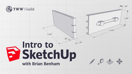 Sketchup Class For beginners and woodworkers