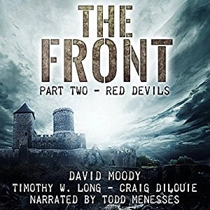 Audiobook: Red Devils: The Front 2 by David Moody (Narrated by Todd Menesses)