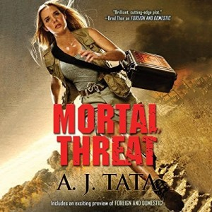 Audiobook: Mortal Threat by A.J. Tata (Narrated by Alexander Cendese)