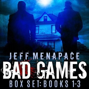 The Bad Games Series Box Set: Books 1-3 by Jeff Menapace (Narrated by Gary Tiedemann)