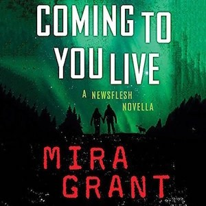 Coming To You Live by Mira Grant (Narrated by Christine Lakin)
