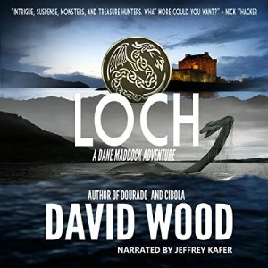 Loch (Dane Maddock #9) by David Wood (Narrated by Jeffrey Kafer)