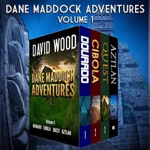 The Dane Maddock Adventures Volume 1 by David Wood (Narrated by Jeffrey Kafer)