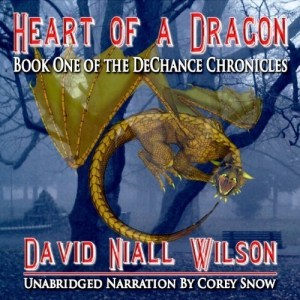 Heart of a Dragon by David Niall Wilson (Narrated by Corey Snow)
