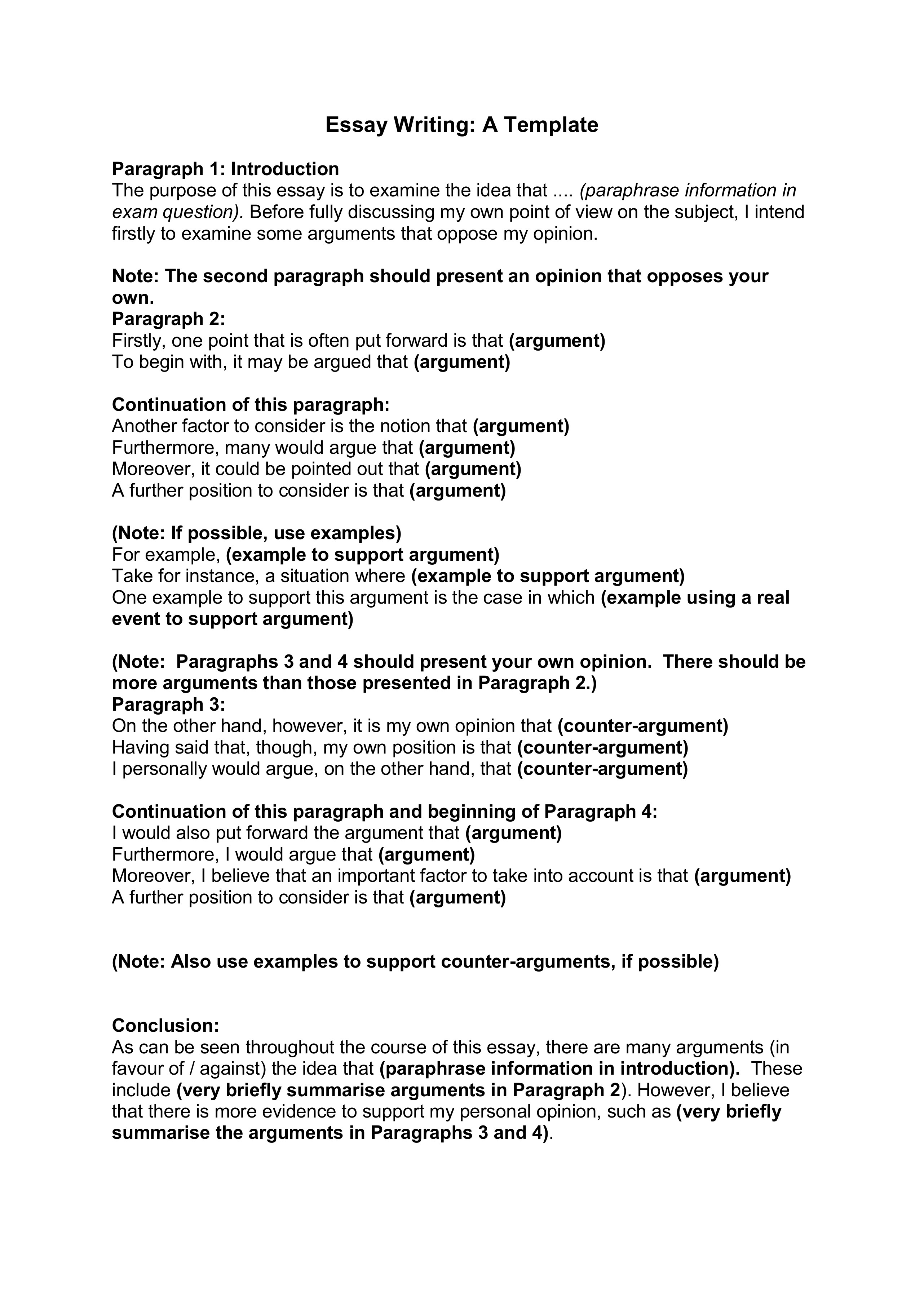 Position Paper Essay Thesis In Essay Definition And Examples Of