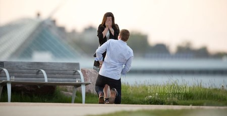 Milwaukee Proposal Photography