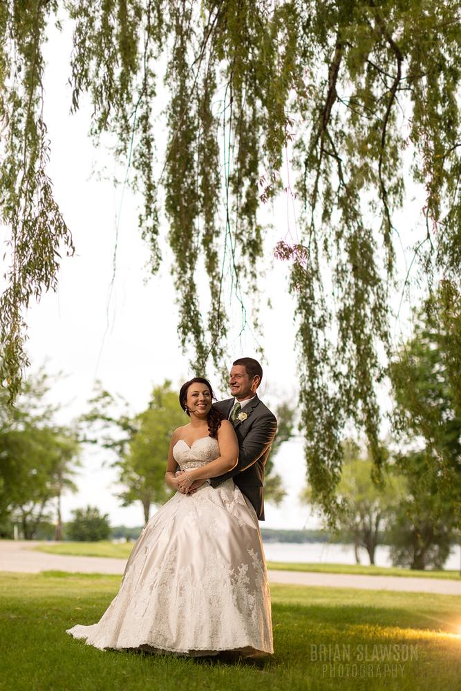 Lake Lawn Wedding;