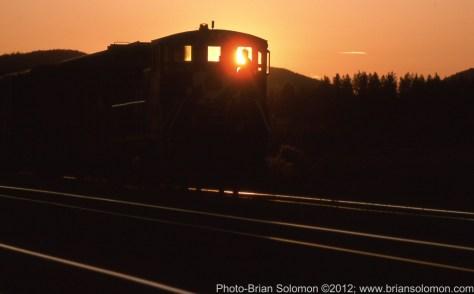Sunset at Whitefish, Montana