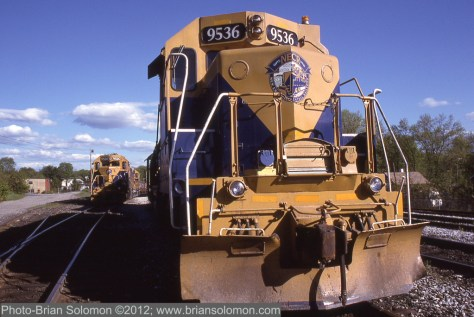 New England Central GP38s.