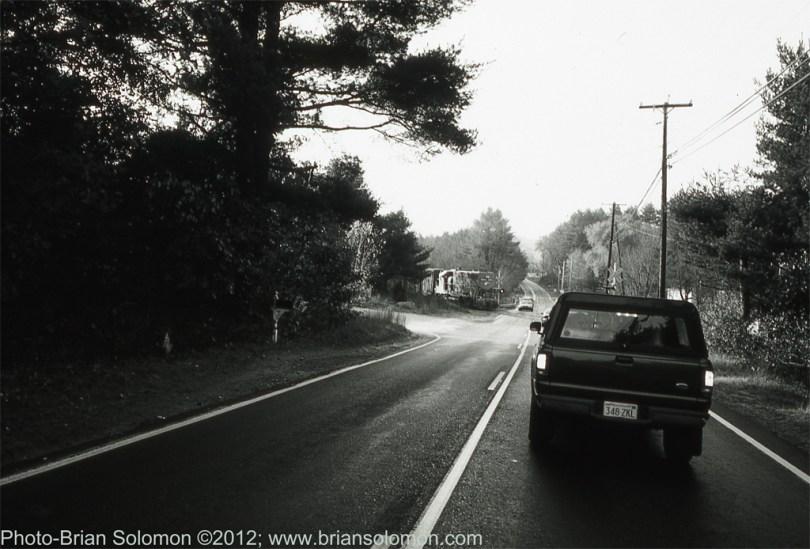 New England Central Monson Massachusetts October 2002.