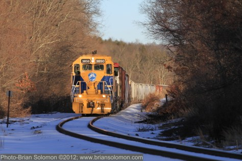 New England Central GP38 3850.