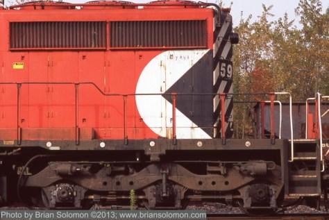 CP Rail SD40-2