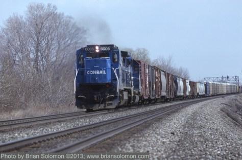 Conrail freight.