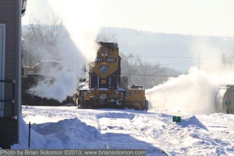 Railway snow removal