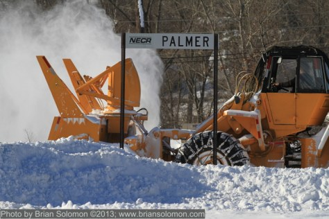 Snow removal at Palmer