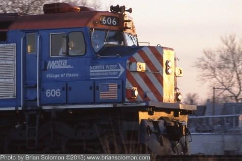EMD F40C.