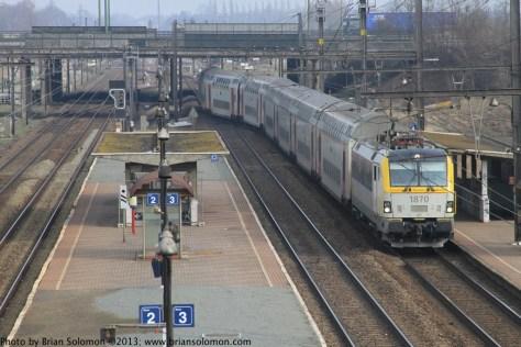 Belgian Railways.