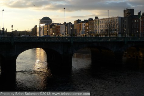 Capel Street Bridge.