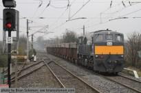 Irish Rail zinc train.