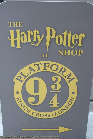 These days Kings Cross is best known because of its role in the Harry Potter stories.