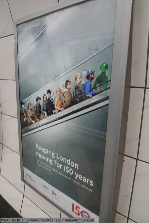 London Underground 150.