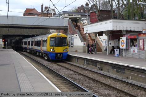 London Overground at Hamstead Heath