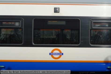 London Overground Train.