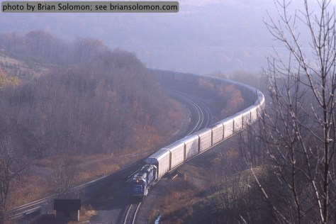 Tunnel Hill, Gallitzin, Pennsylvania on November 3, 2001.