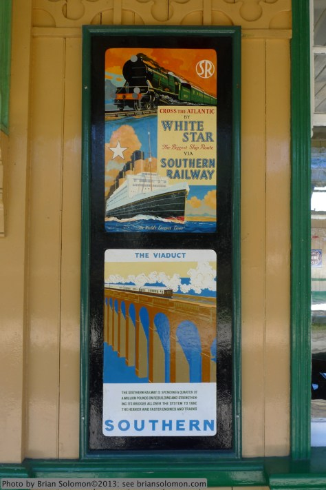Old railway posters